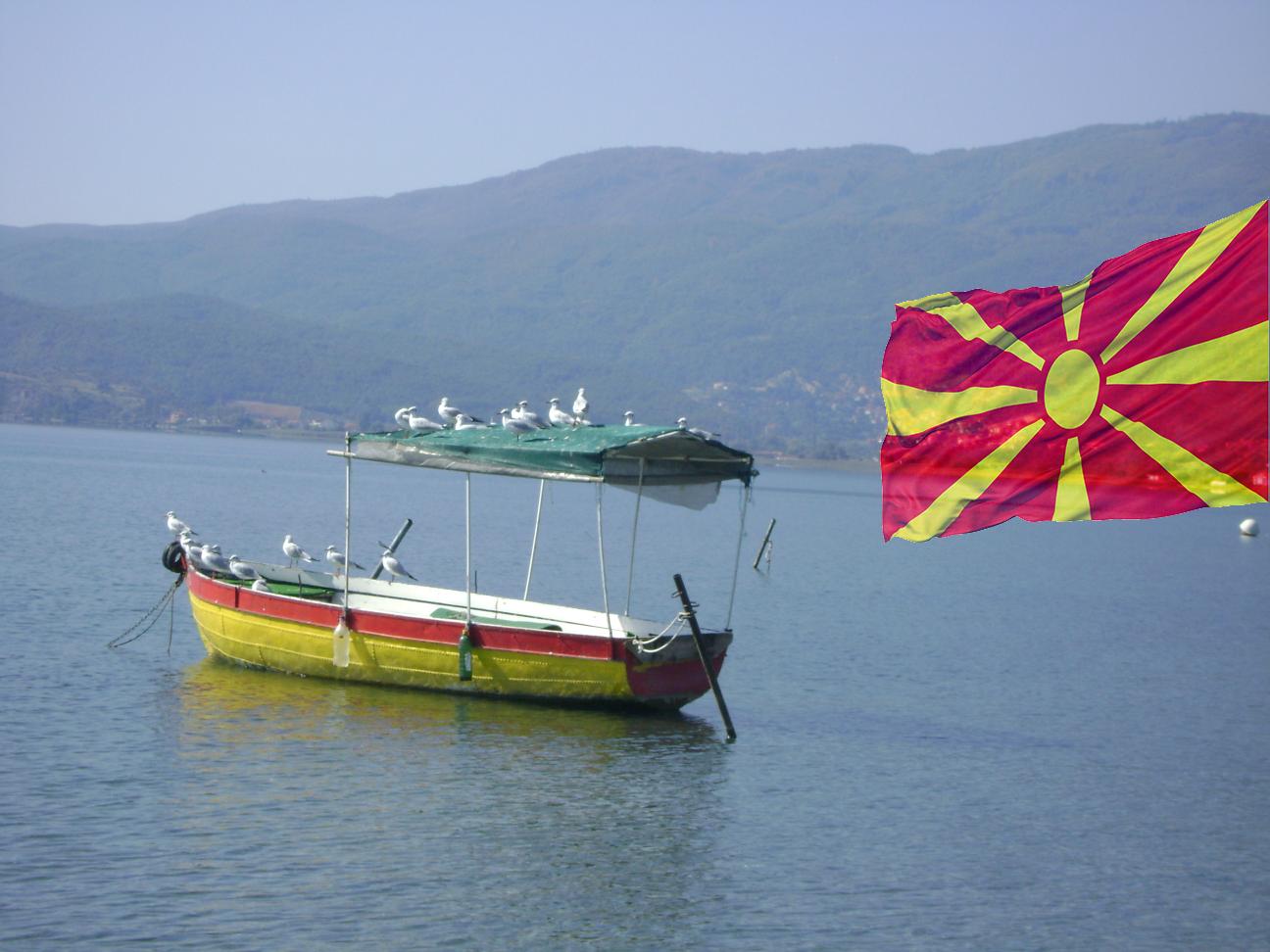 Struga, Jezioro Ochrydzkie, Macedonia