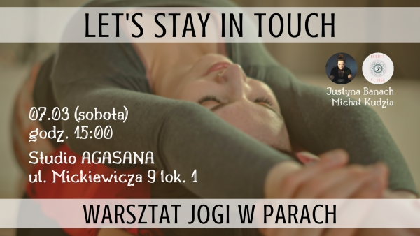 Let's Stay In Touch - warsztat jogi w parach